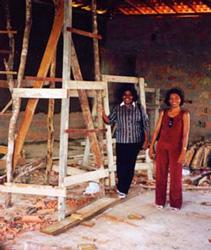 Die beiden Direktorinnen der Diözesankollegs im Erweiterungsbau