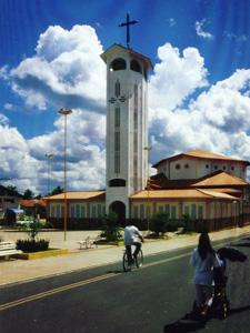 Die Kathedrale von Coroatá